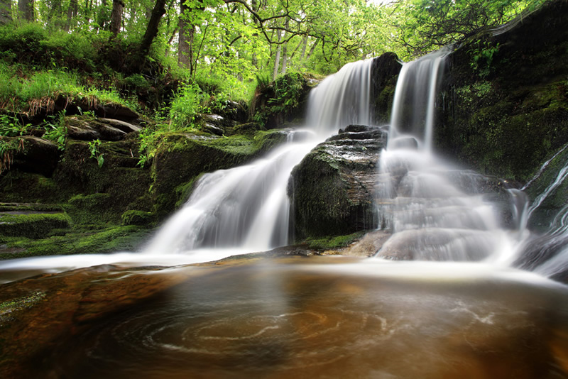 Black Spout Waterfall - Pitlochry Perthshire