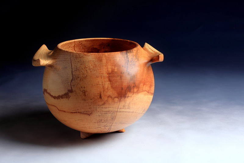 Spalted Sycamore Vessel